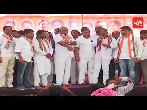 Telangana Congress Party Meet At Tandur - Congress Bus Yatra - Praja Chaitanya Yatra | YOYO TV
