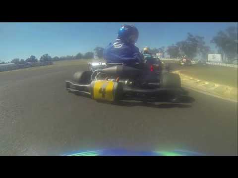 2016 NSW KZ2 Super Series, Round 4, Heat 1, onboard with Jack Westcombe-Casey