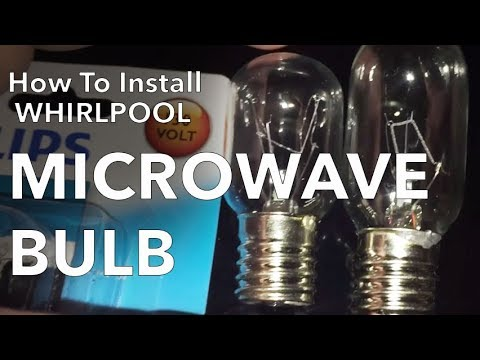 Whirlpool Microwave Hood Light Bulb