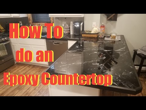 How to: Epoxy Countertop DIY/Countertop Resurfacing