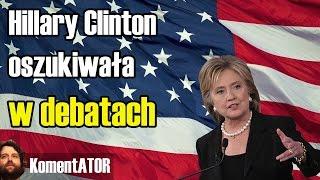 Clinton Oszukiwała w Debatach! Może Przegrać! - KomentATOR #467
