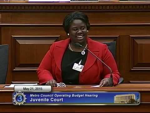FY16 Juvenile Court 05/21/15