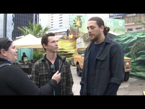 HFF Talks with Shawn Hatosy & Ben Robson at the Animal Kingdom activation at SXSW 2017