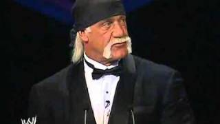 Hulk Hogan - WWE Hall of Fame (2005). Part 1