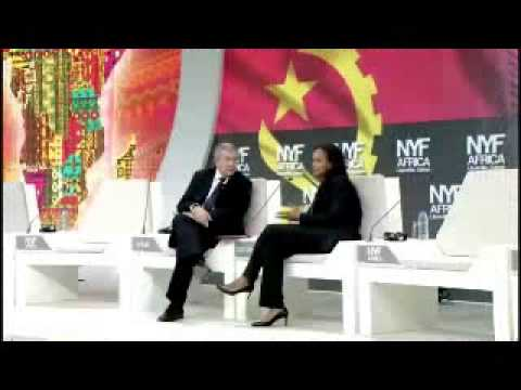 New York Forum Africa - Interview with Isabel dos Santos - Part 1