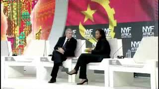 New York Forum Africa - Interview with Isabel dos Santos - Part 1