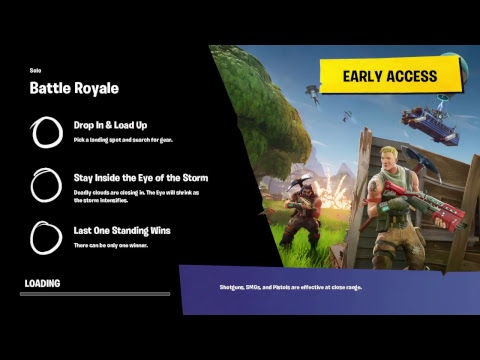 Learning How To Play (Fortnite BR)