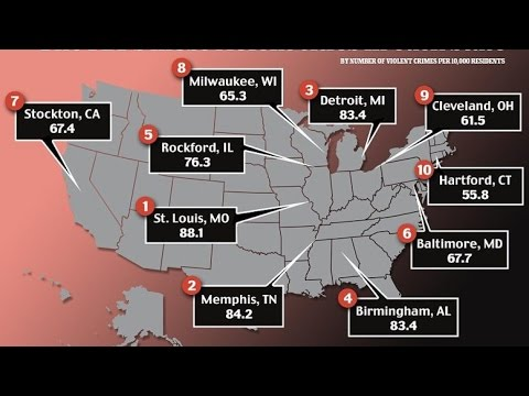 St. Louis Deemed Most Dangerous City In the United States