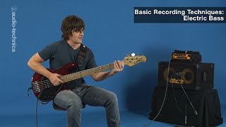 Basic Recording Techniques: Electric Bass