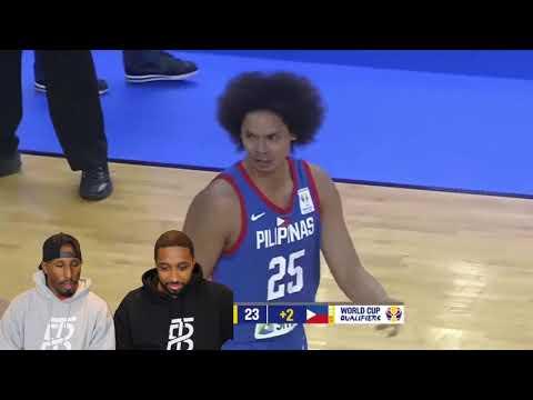PHILIPPINES VS QATAR FIBA WORLD CUP 2019 ASIAN QUALIFERS REACTION