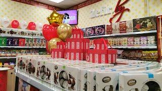 Сотый фирменный магазин «Красный пищевик» открылся в Витебске