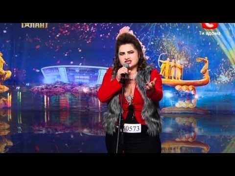 Жена Филиппа Киркорова на шоу Украина имеет таланты