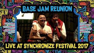Video Base Jam Reunion live at SynchronizeFest - 8 Oktober 2017 download MP3, 3GP, MP4, WEBM, AVI, FLV Juli 2018
