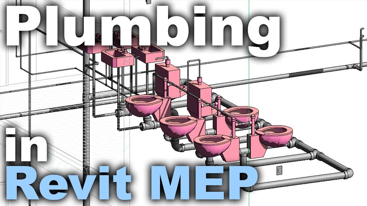 Plumbing in Revit MEP Beginner Tutorial