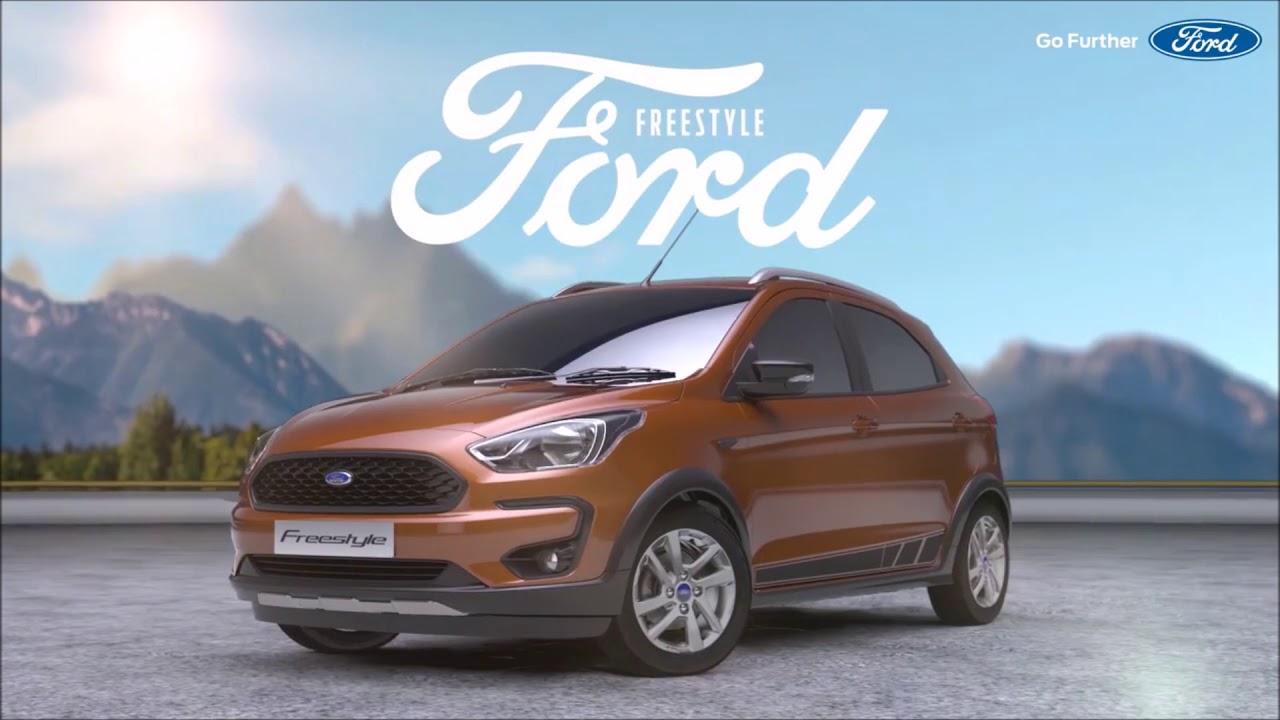novo ford ka   facelift revelado na india wwwcarblogbr youtube