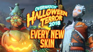 All The New Skins From Overwatch Halloween Terror 2018