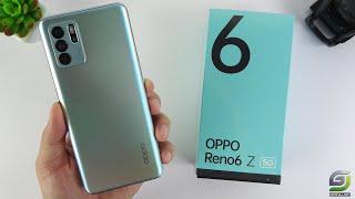 Oppo Reno6 Z 5G Unboxing   Hands-On, Design, Unbox, AnTuTu Benchmark, Camera Test