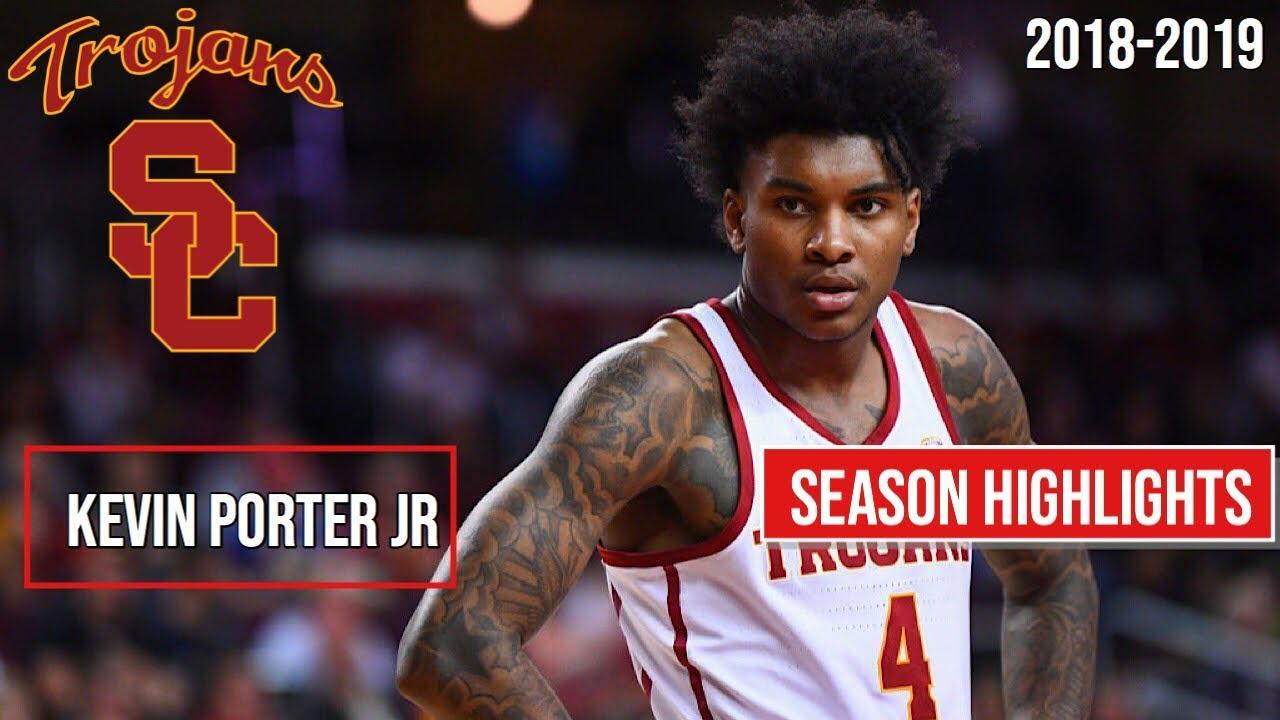 Kevin Porter Jr USC Freshmen Regular Season Highlights ...