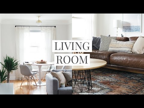Our Living Room & Dining Room Tour