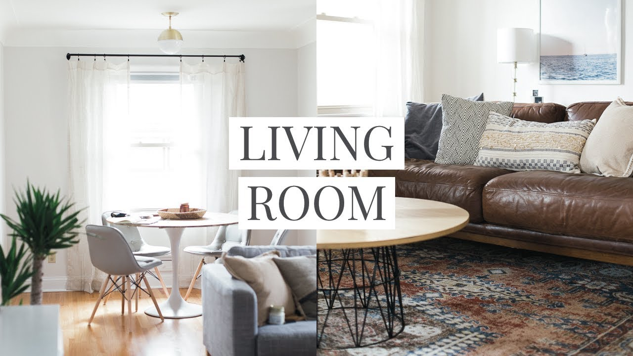 Our Living Room & Dining Room Tour - YouTube