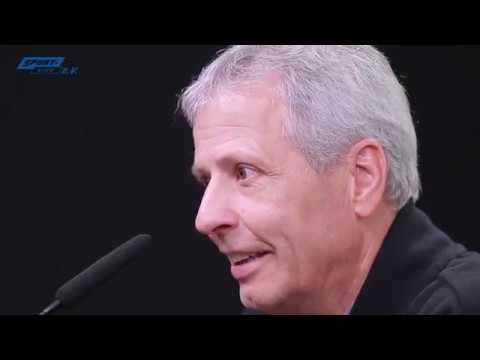 BVB-Pressekonferenz mit Favre und Hütter