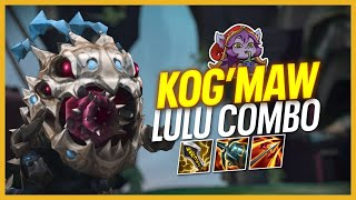 TESTING OUT KOGMAW LULU COMBO | Doublelift Solo Queue
