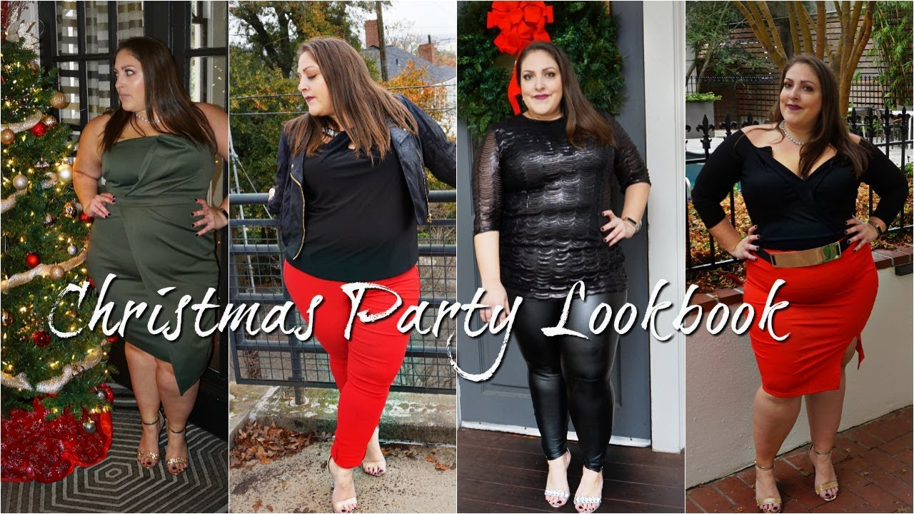 [VIDEO] - PLUS SIZE HOLIDAY LOOKBOOK 2018 | 6 AFFORDABLE CHRISTMAS PARTY OUTFITS 6