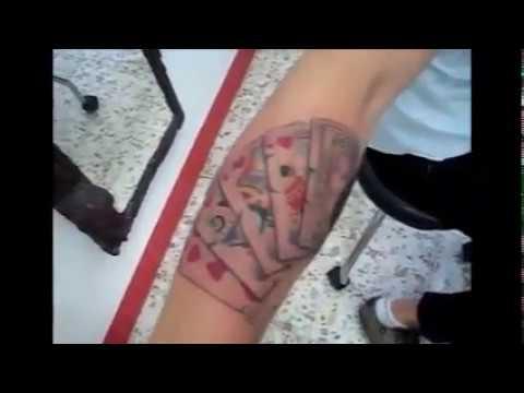 Tatuaje Brazo Juego Estilo Old School 1 Youtube