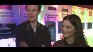Doctor Who (BBC) - Jenna-Louise Coleman & Matt Smith INTERVIEW complet 18/12/12