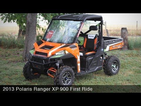 2013 Polaris Ranger Xp 900 First Ride Motousa Youtube