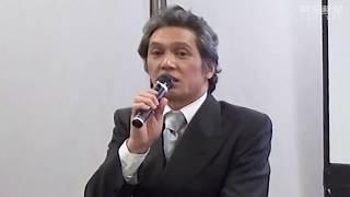 奈良市出身の俳優、加藤雅也さんが2月、イベントで奈良の観光について...