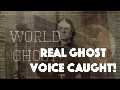 WORLD GHOST   GHOST VOICE CAUGHT!   Silver Queen Room 11