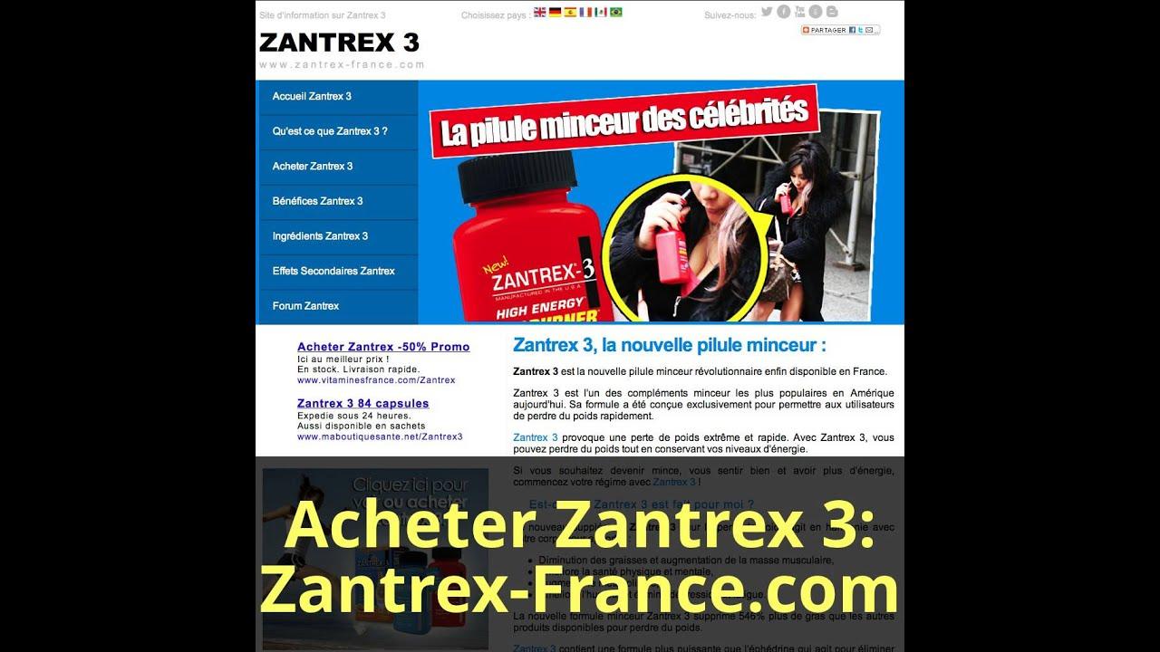 Plan De Régime Avec Zantrex 3 - Brûleur De Graisse Zantrex 3