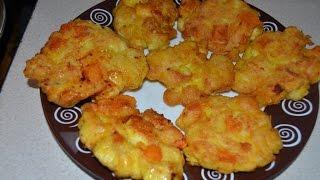Рубленные куриные котлетки с сыром.Филе.