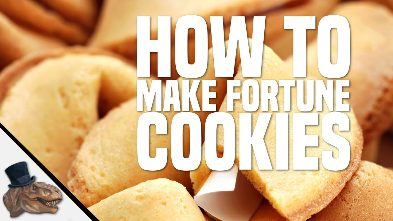 How to Make Fortune Cookies Correctly - YouTube