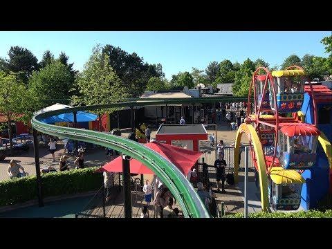 Monorail Legoland Billund Denmark 4K