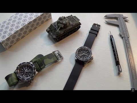 Genuine Military Watches - Marathon Diver Review & Comparison - Medium & GSAR Full Size Automatic