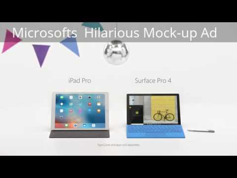 Microsoft\u0027s Hilarious New Ad To Mock Apple Ipad Pro Apple vs