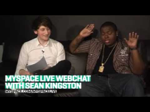 MySpace Live Webchat with Sean Kingston