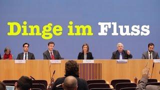 Dinge im Fluss - Komplette Bundespressekonferenz vom 23. Dezember 2016