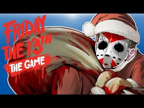 Friday The 13th Beta - SANTA JASON! (KILL! KILL! KILL!)