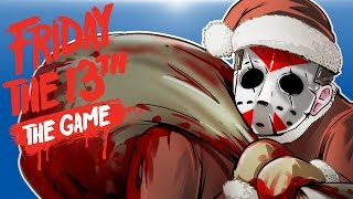 Friday The 13th Beta - SANTA JASON! (KILL! KILL! KILL!)