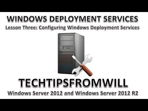 Lesson Three: Configuring Windows Deployment Services
