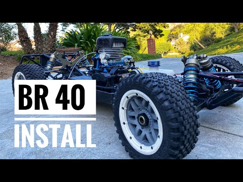 BR 40cc Install - Bartolone Racing - Cleaning Losi 5ive-T - Smith RC Studios
