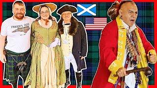 🤠Scottish Guy goes to NORTH CAROLINA Scottish Festival 🇺🇸🏴
