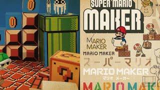Super Mario Maker Digital Booklet.