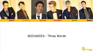 SECHSKIES - Three Words [Hangul, Rom, English]