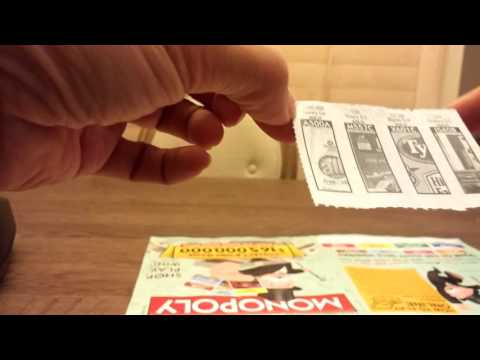 $1,000,000 2016 Monopoly Instant Win Game - Albertsons, Vons, Safeway