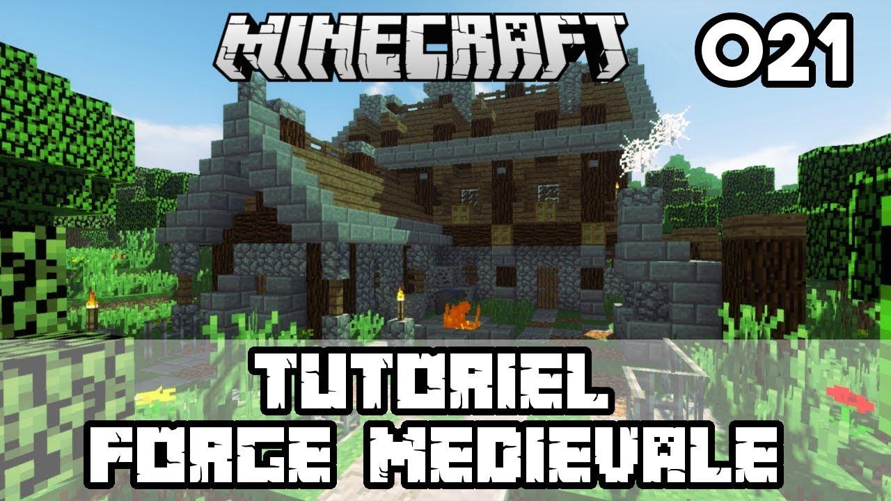 Minecraft Tuto Forge Medievale