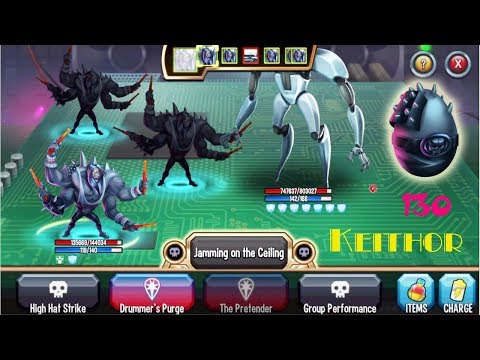 Monster Legends - Keithor level 130 review combat Metalbandisland